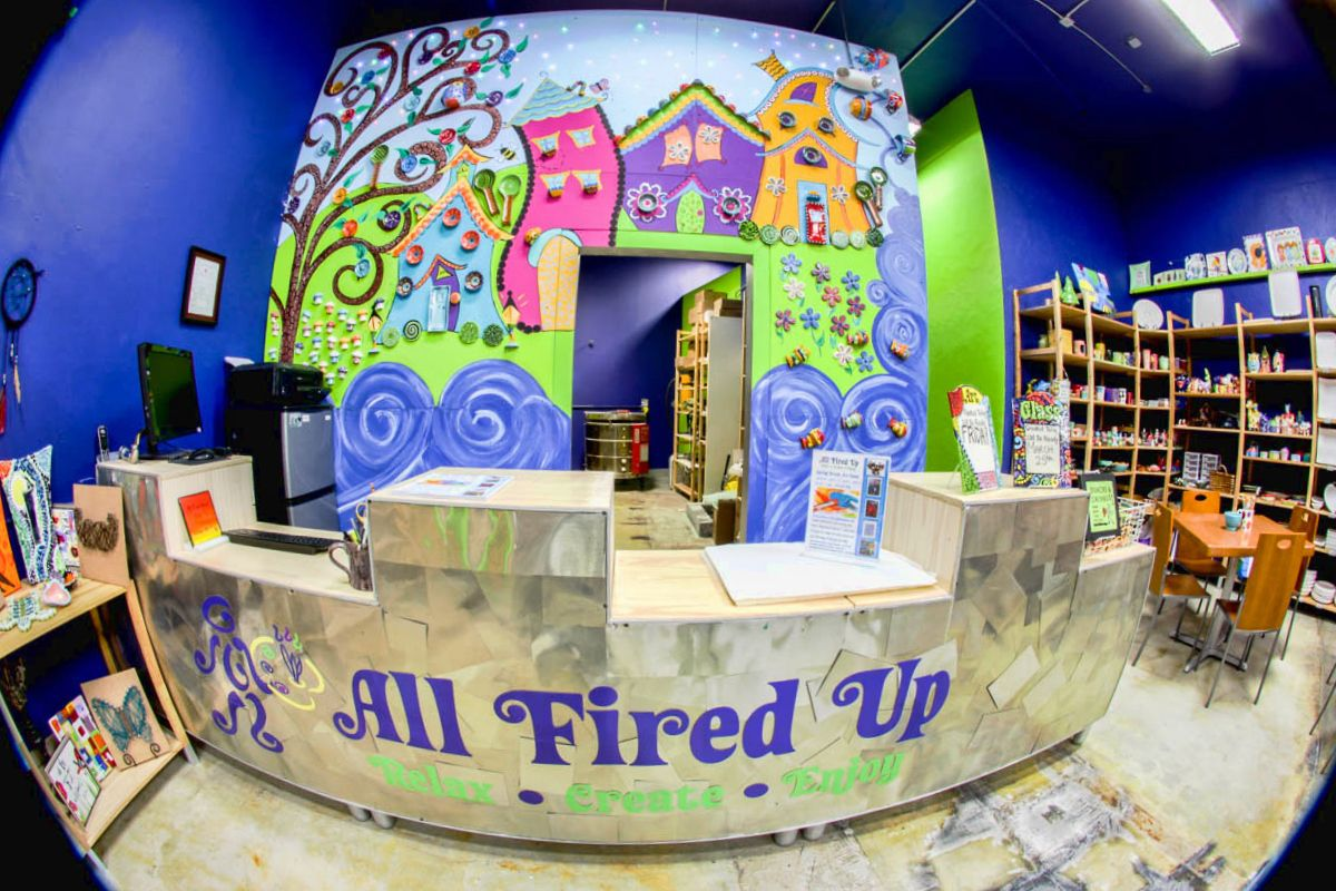 All fired up atlantas best pottery painting glass