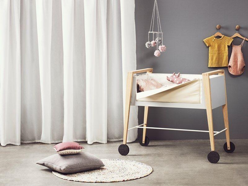 Linea by leander modern baby furniture neele beistellbett baby