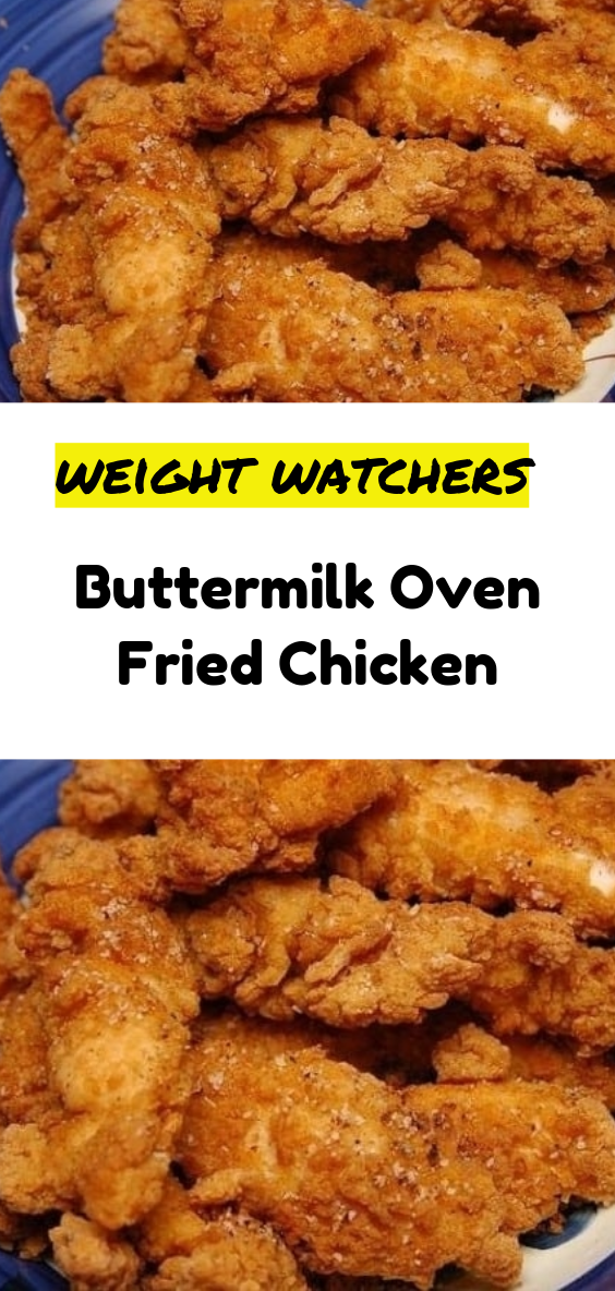 Buttermilk Oven Fried Chicken Chicken Thights Recipes Fried Chicken Recipes Oven Fried Chicken
