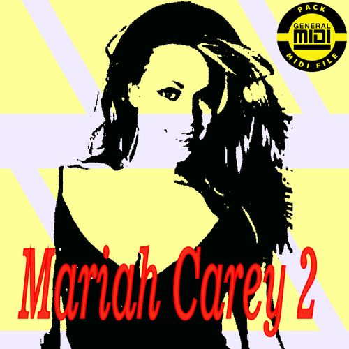 Mariah Carey 2 Pack 8 Midi File General Midi Descarga Inmediata Soy Cantante Mariah Carey Cantantes Canciones