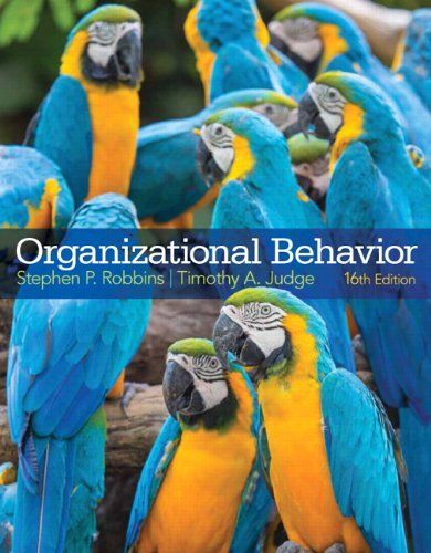 Organizational Behavior 16th Edition Properbook Organizational Behavior Behavior Books Books