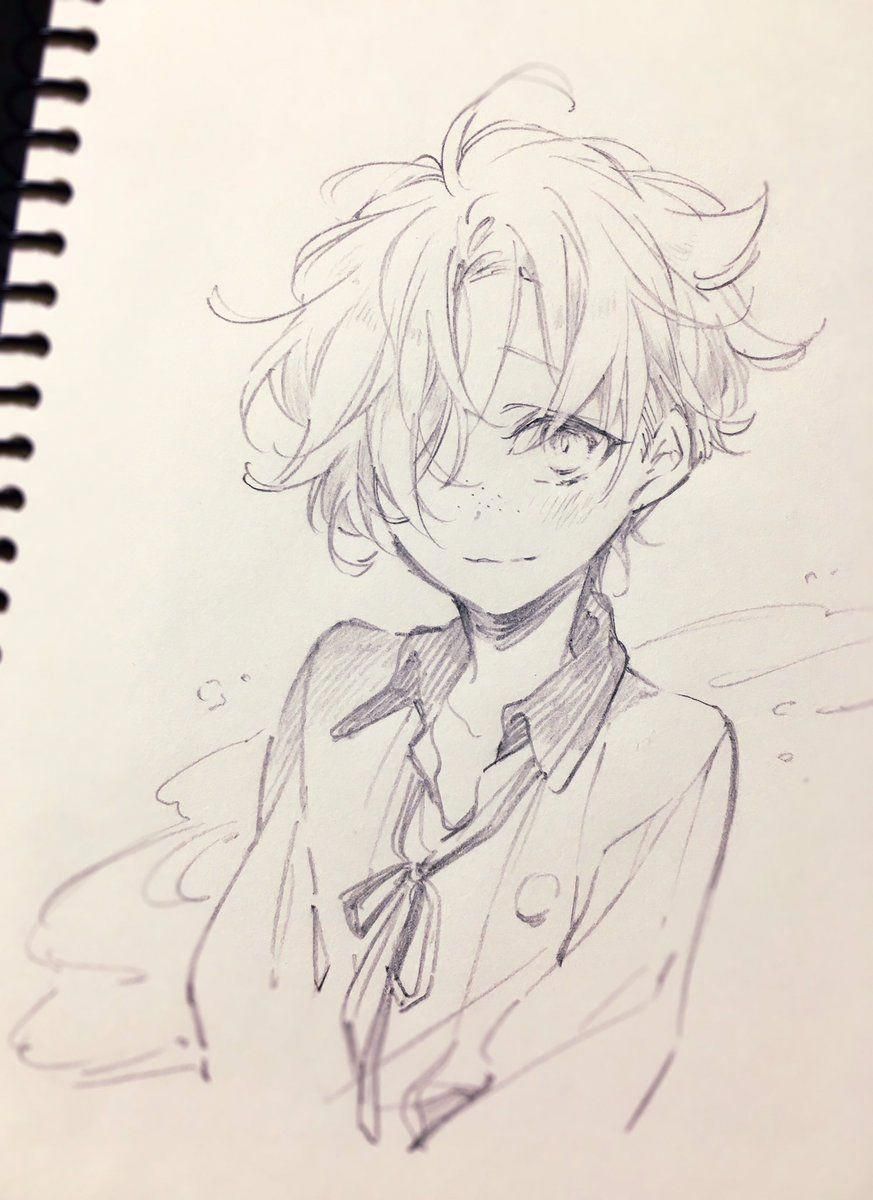 Embedded Animeart Anime Drawings Sketches Anime Sketch Sketches