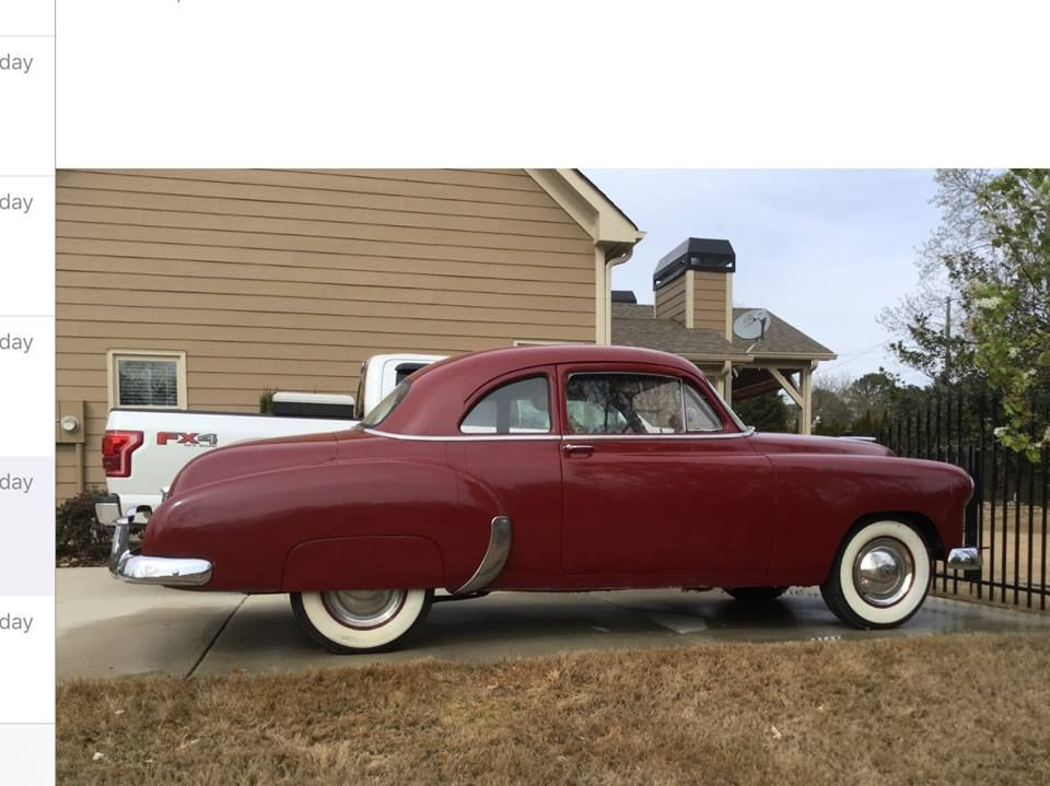 1950 Chevrolet Coupe (GA) - $19,900 Please call Eddie at 515-556 ...