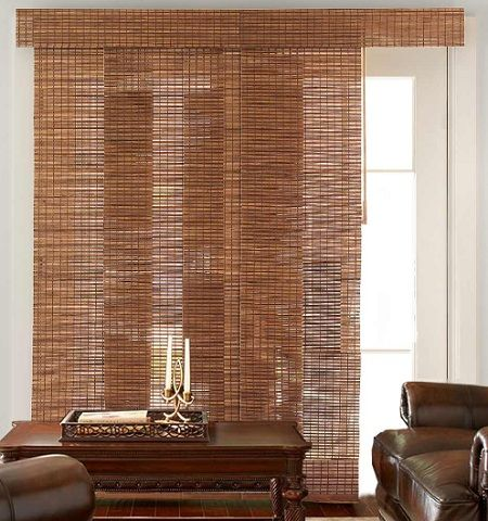 Bamboo Blinds For Sliding Glass Doors Sliding Glass Door