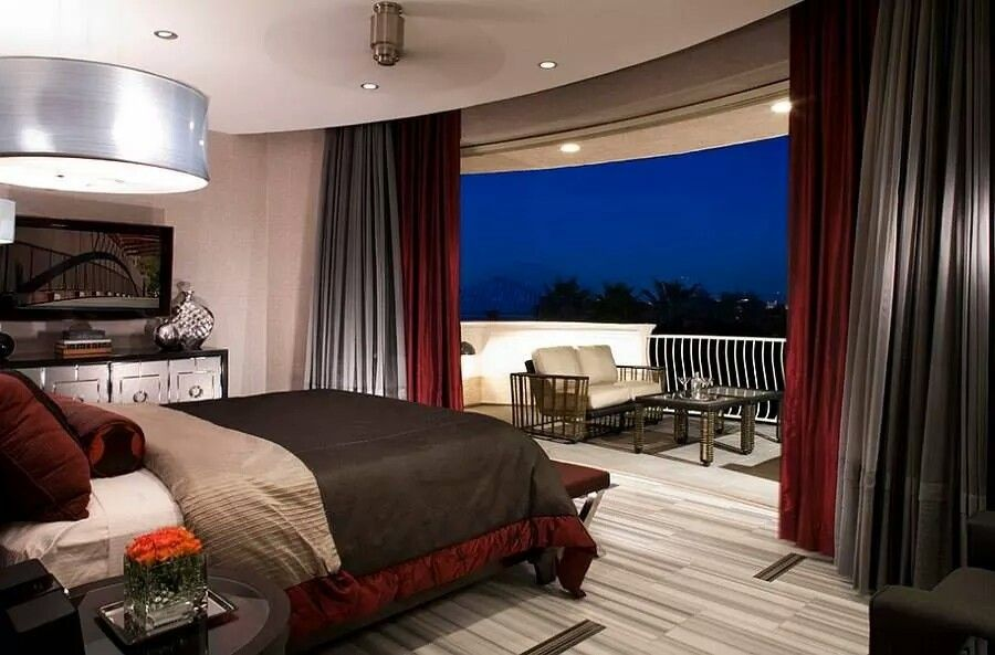 Habitacion Con Balcon Dormitorio Contemporaneo Dormitorio Moderno Disenos De Dormitorios