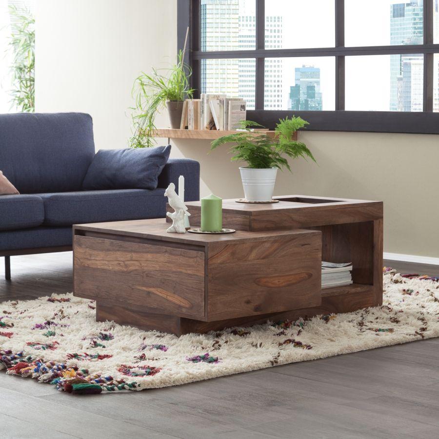 couchtisch amory ii sheesham palisandru pinterest couchtisch tisch i wohnzimmer. Black Bedroom Furniture Sets. Home Design Ideas