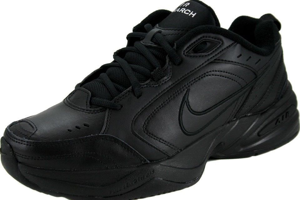 Nike Men's Air Monarch IV Cross Training Shoes 415445 001 Black Size 10 #Nike…