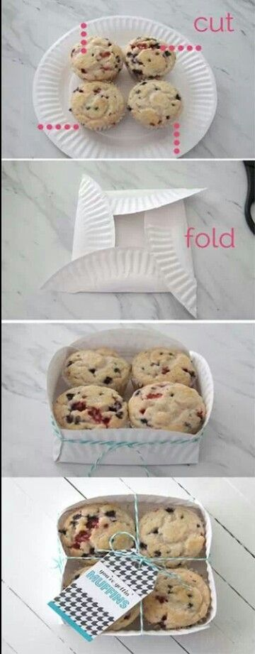 """Instant Paper Plate Holders! - From """"1LoveFashion"""" on Tumblr."""