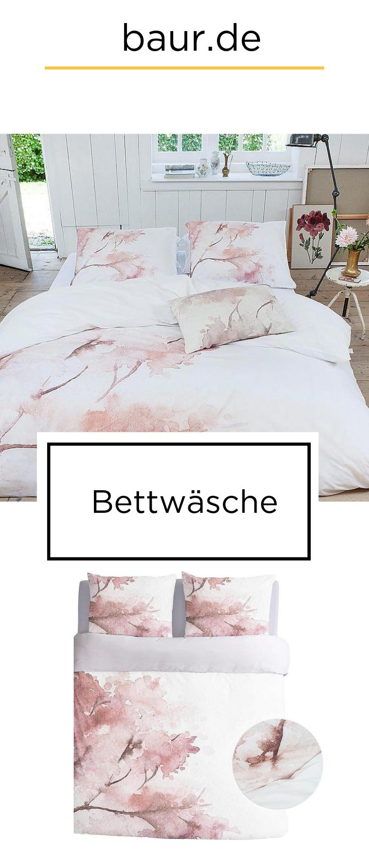Wendebettwäsche »Pink Blosom«, Walra in 2019 | Bettwäsche | BAUR | Pink