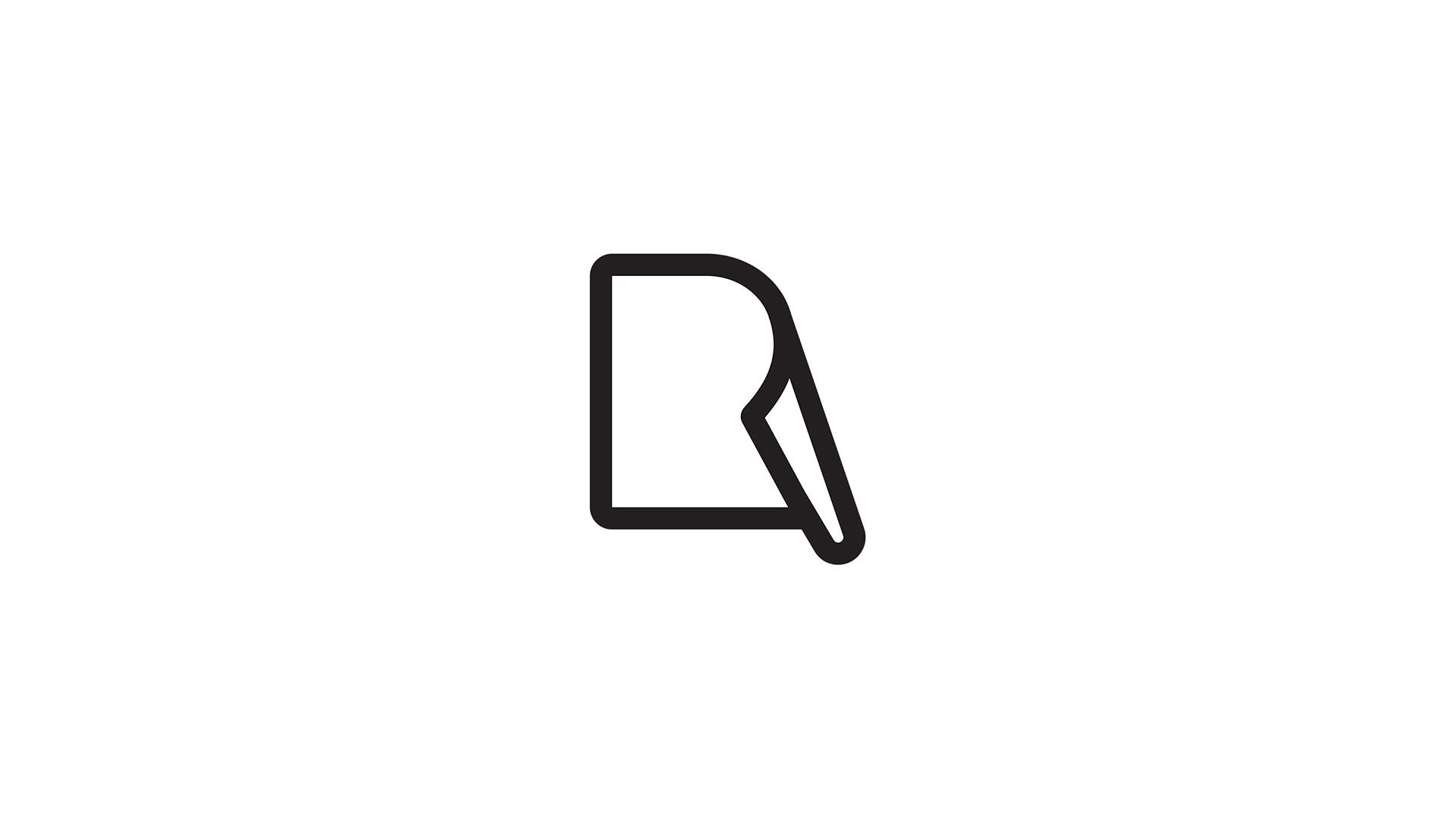Pape R Logo On Behance Logos Logo Design Graphic Design