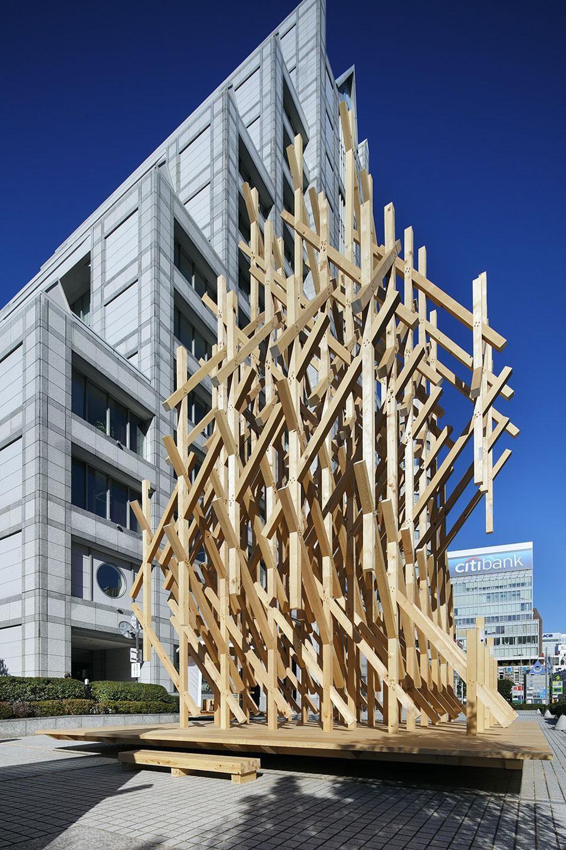 The Wisdom Tea House By Kengo Kuma Associates Tokyo Arquitectos
