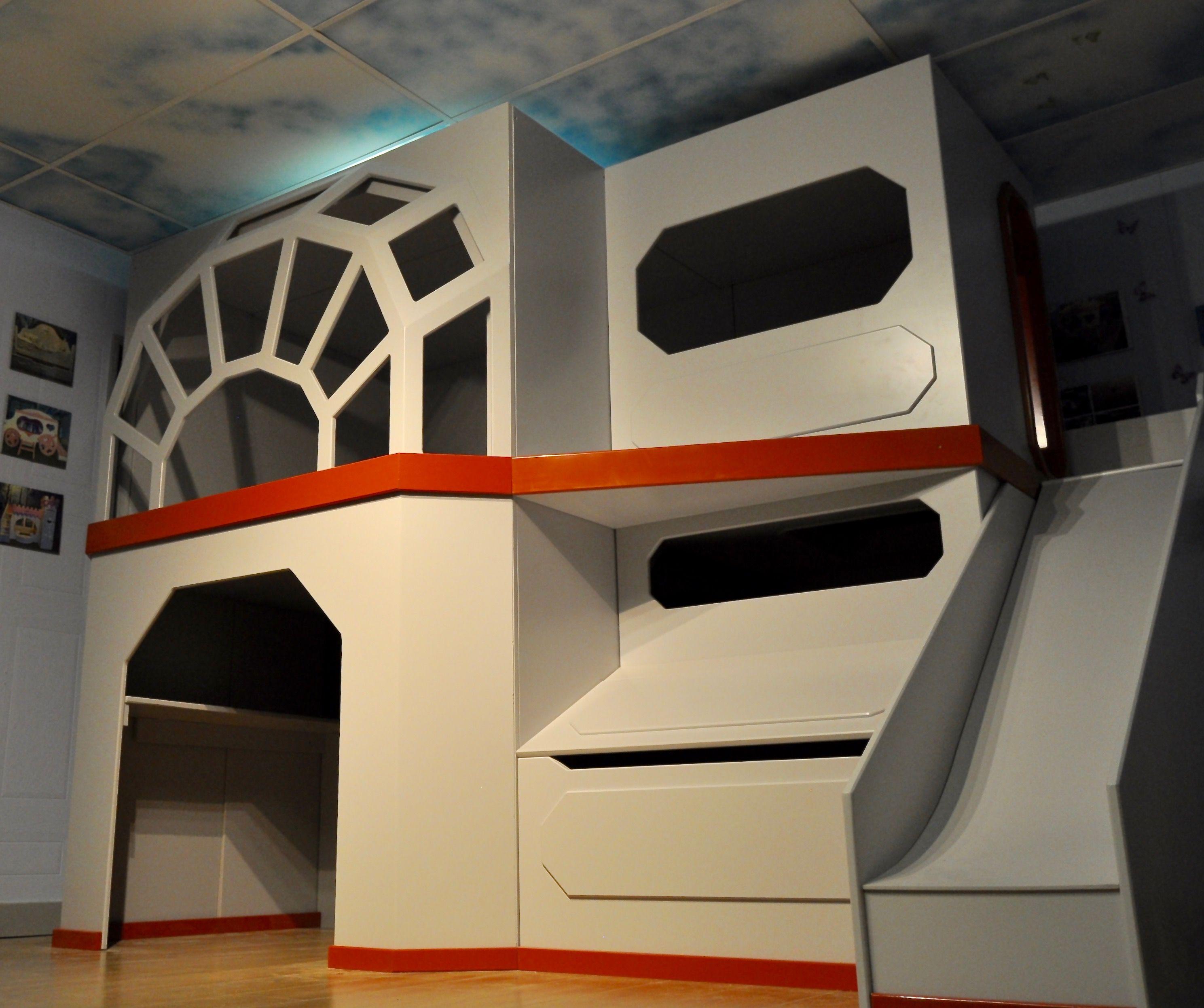 Millenium Falcon Themed Star Wars Children S Bunk Bed