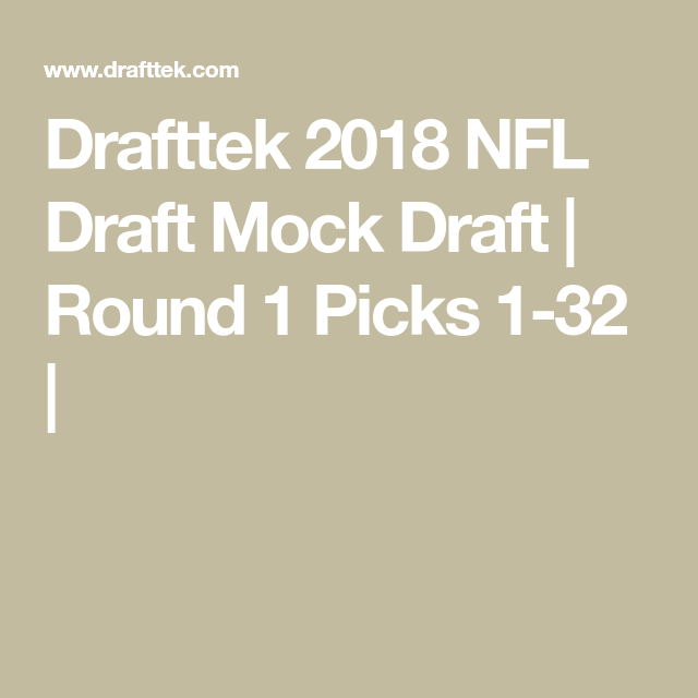 How Do I Get Tickets To The 2018 Nfl Draft