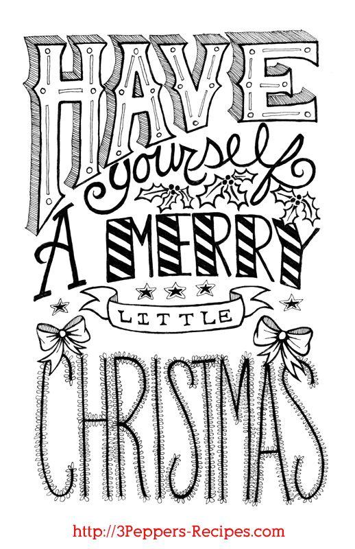 merry christmas stencils printable
