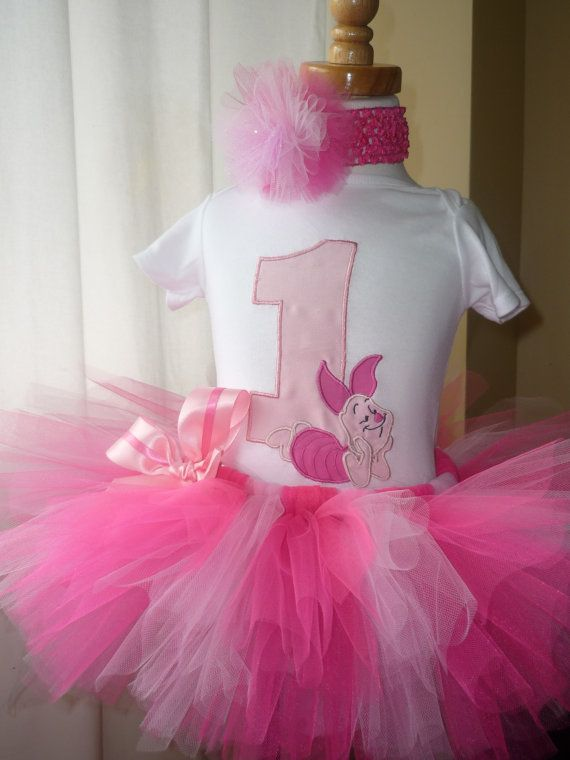 Piglet 3 piece outfit tutu tshirt headband by Pretty4yourPrincess ...