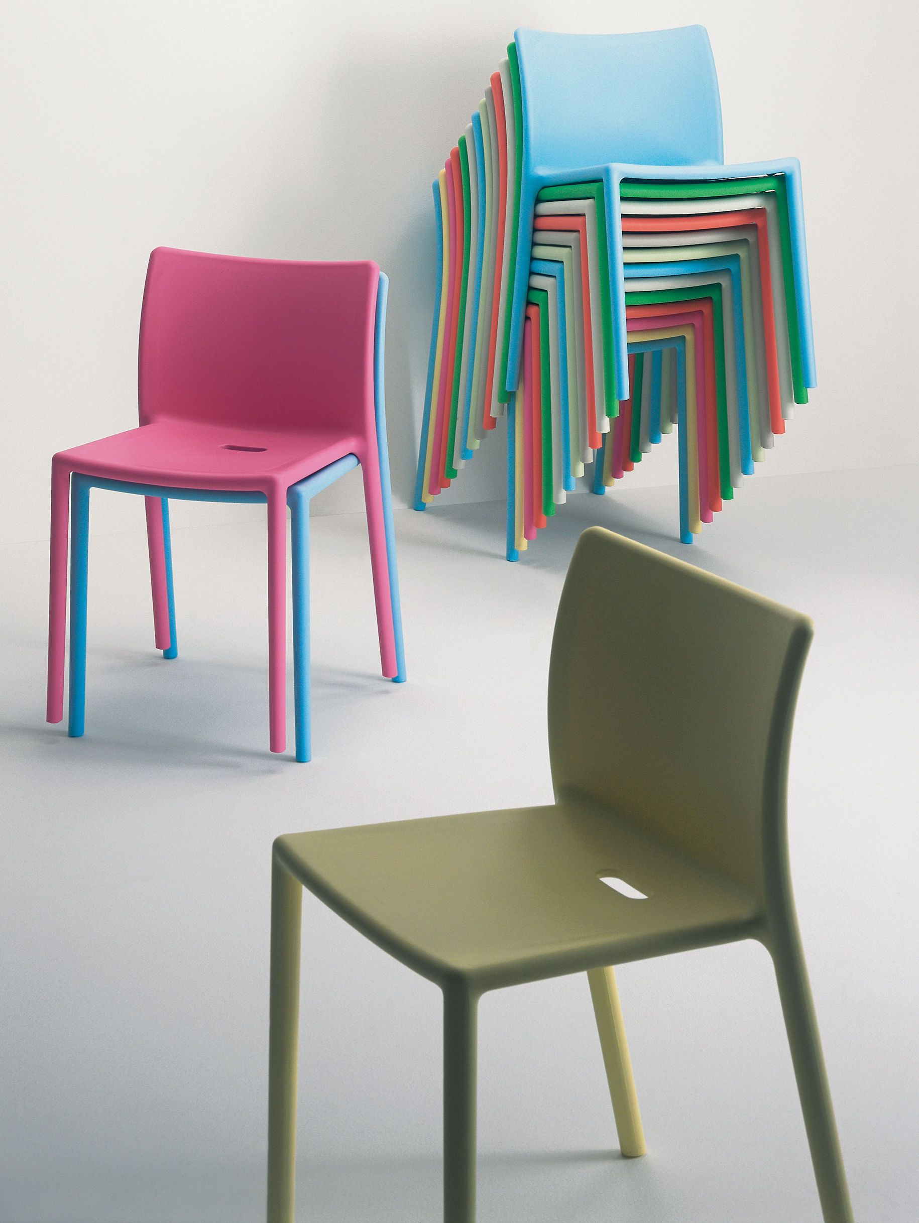 air chair stacking chair polypropylene air chair stacking