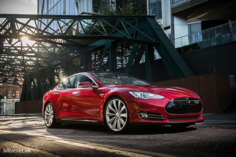 Tesla Model S P85D Tesla