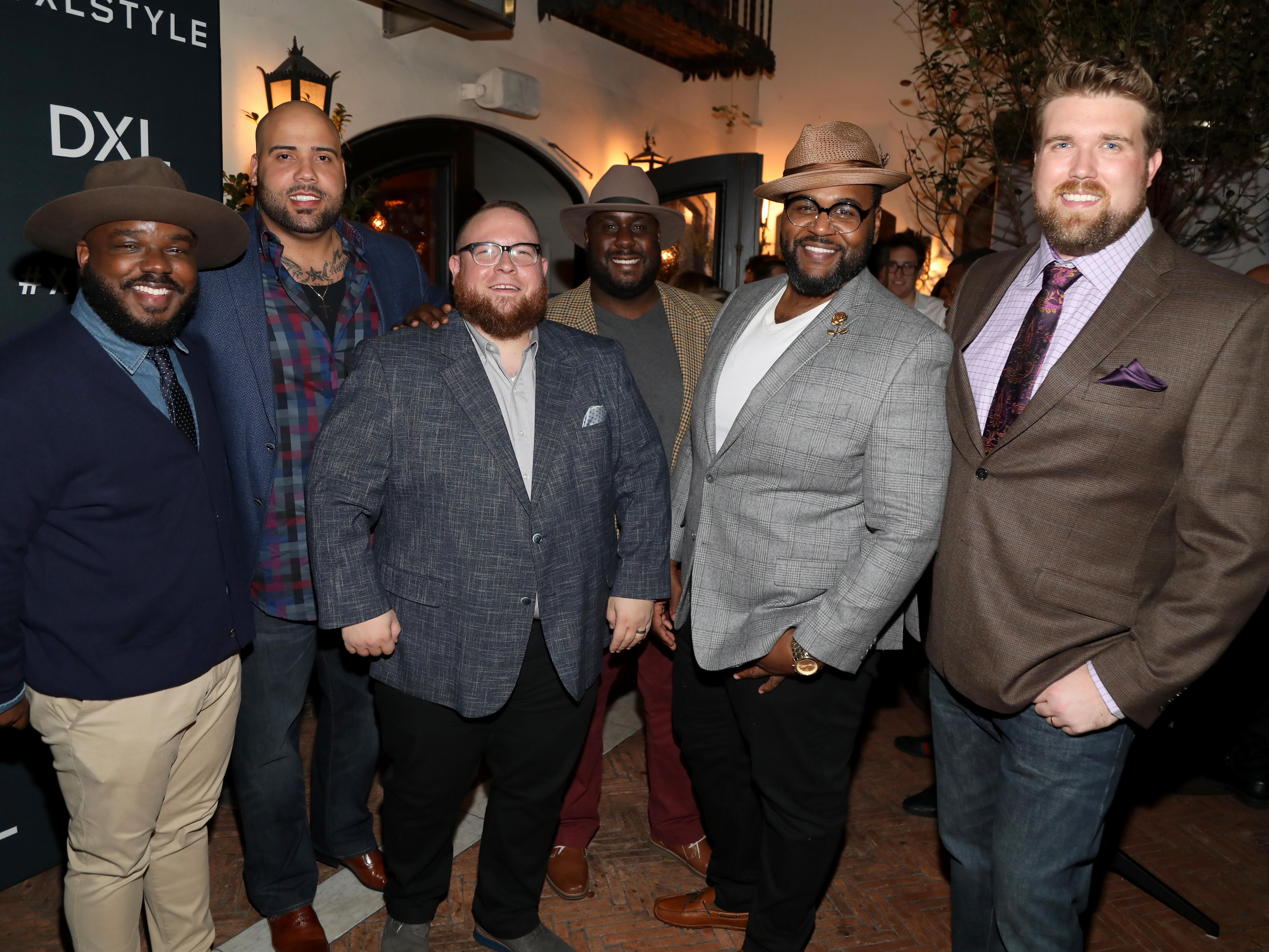 Heavy Conversation Podcast Becoming A Plus Size Male Model Chubstr Male Models Big Men Fashion Plus Size