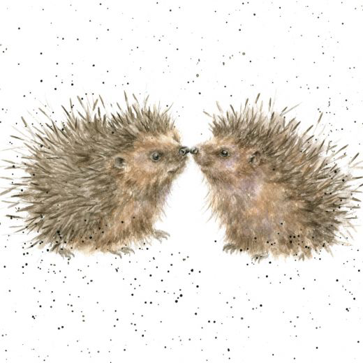 'Hogs and Kisses' card