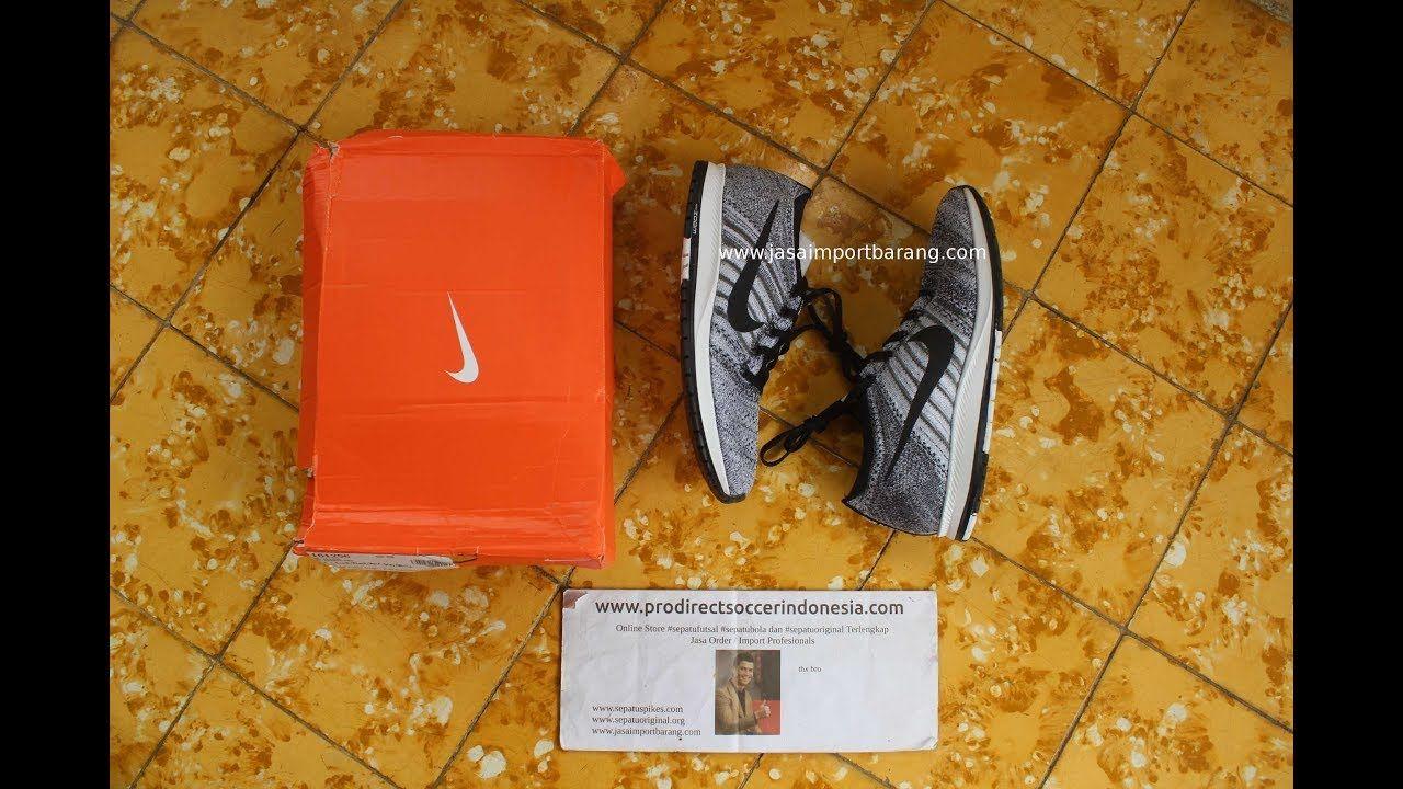 Sepatu Lari Nike Flyknit Streak Black 835994 003 Original Sepatu