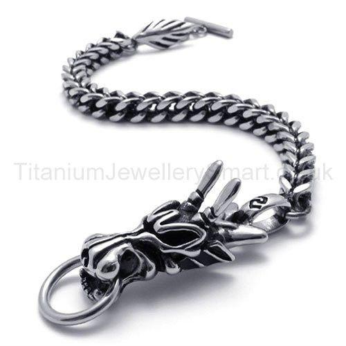Cool Men S Dragon Anium Bracelet 20027 109 Jewellery Uk