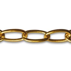 Large Link Solid Brass Lighting Chain