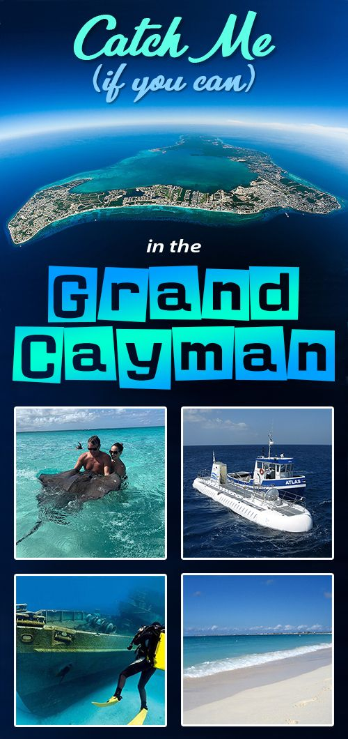 Catch Me (if You Can) In The Grand Cayman! (With Images