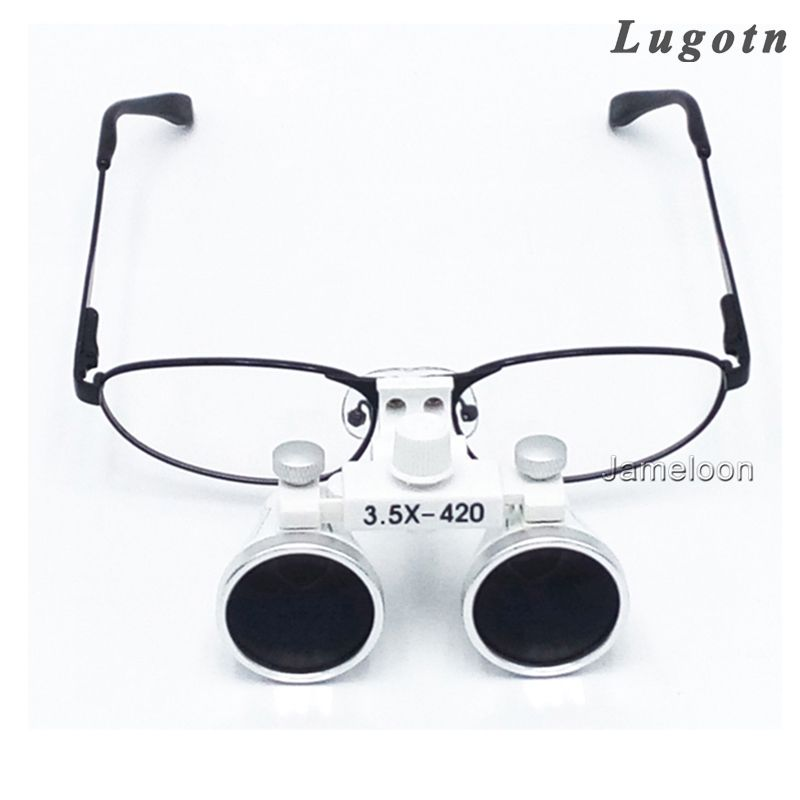 35x magnification metal frame changeable near sighted