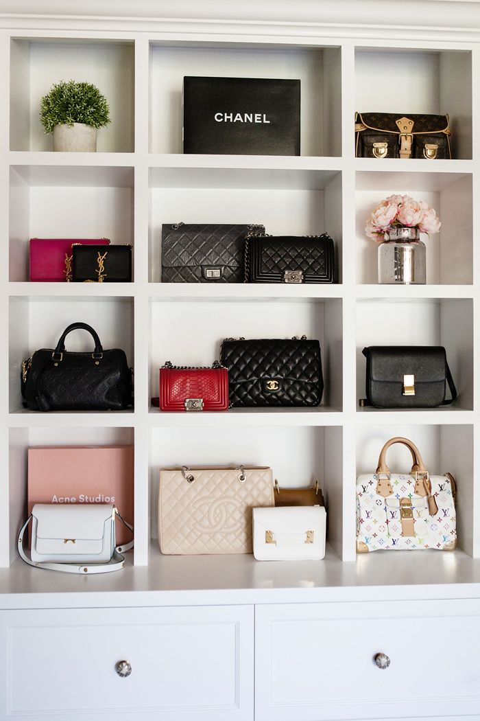 Shelves For Your Bags And Purses In Wardrobe 7 Dreamy Ways To Refresh Closet Spring