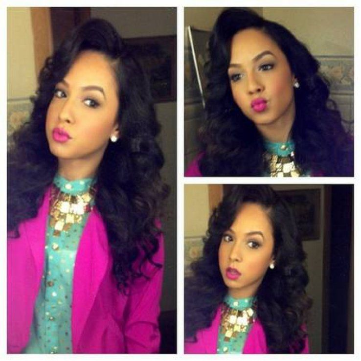 Pix For Full Sew In Weave With No Hair Out Hair Pinterest