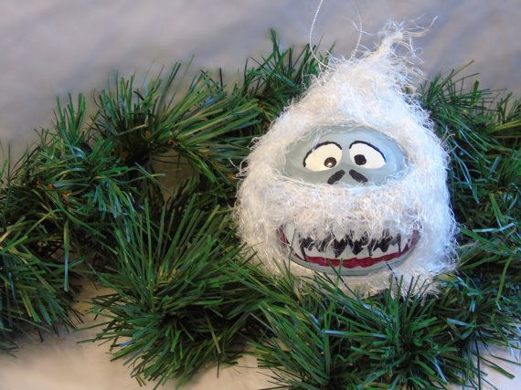 Christmas Ornament ; Yeti / Abominable Snowman Ornament Christmas