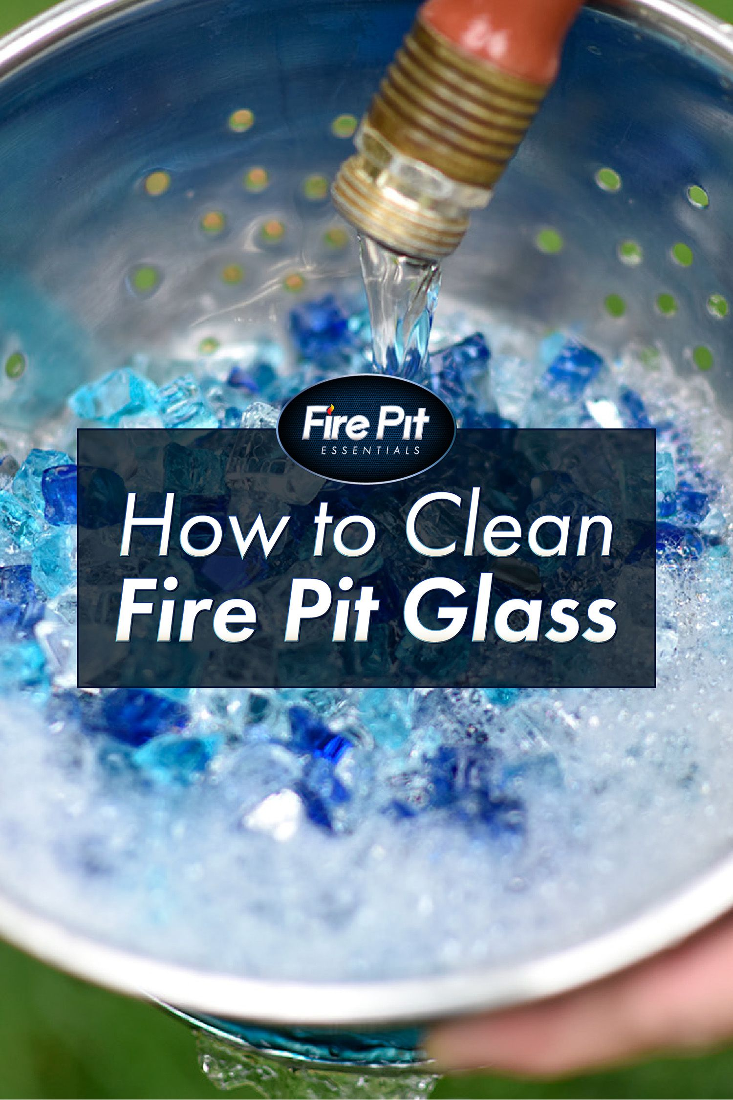 How to clean fire pit glass check out our stepbystep