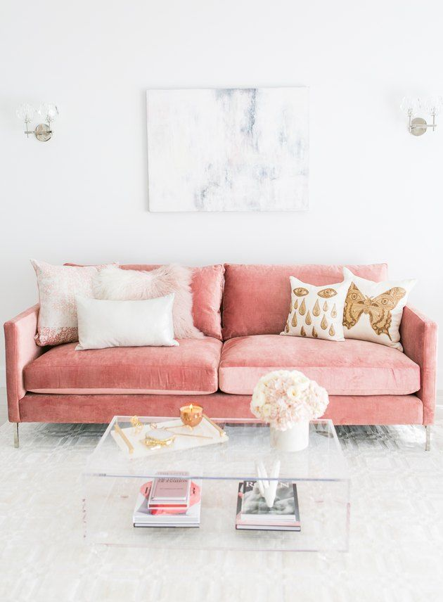 These 15 Pink Living Rooms Are Simply Effervescent images
