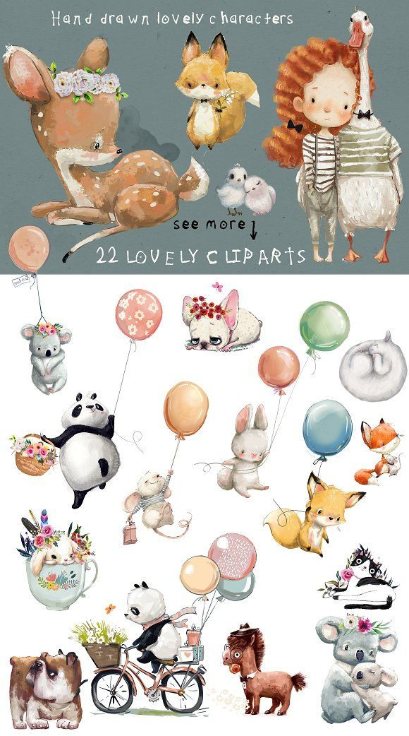 Photo of 22 lovely characters by Eve_Farb  #graphic #graphics #graphicdesign #illustratio…