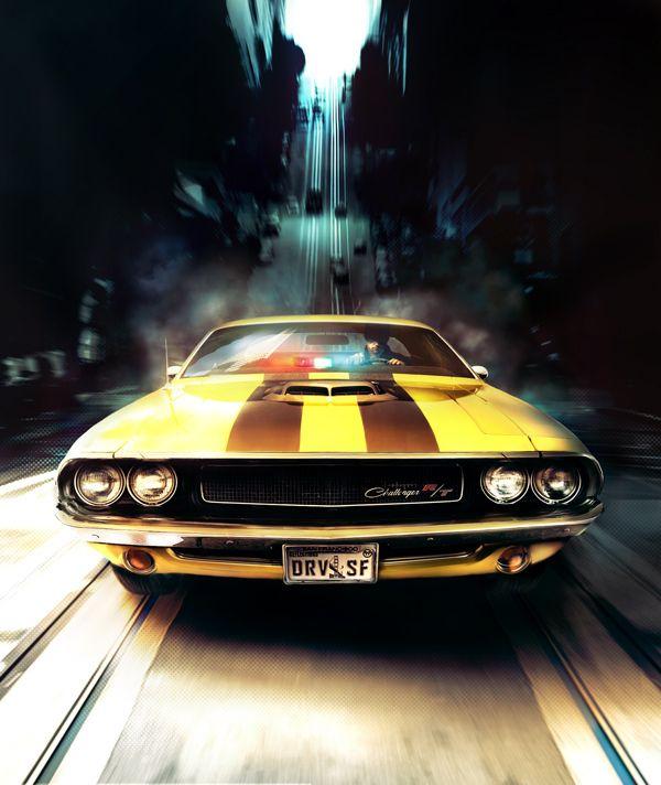 DRIVER - San Francisco by Xavier Thomas, via Behance | Cool