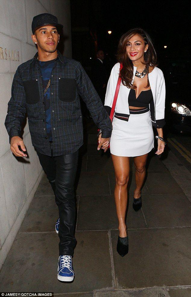 Nicole Scherzinger And Lewis Hamilton Looked Happier Than Even When They Heade