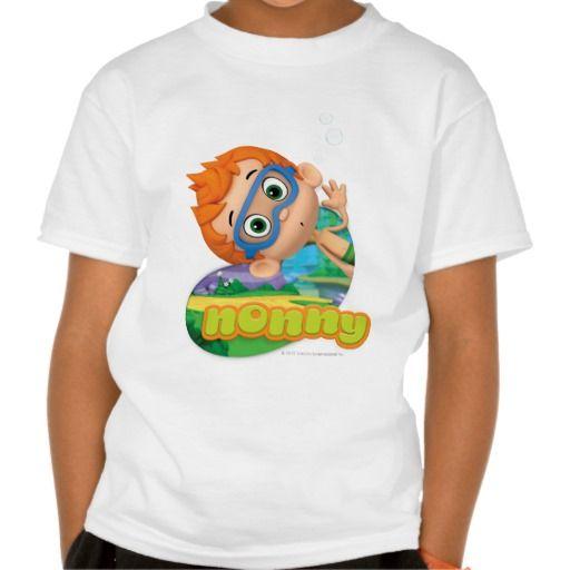 Nonny Tee Shirts | Bubble Guppies | Pinterest