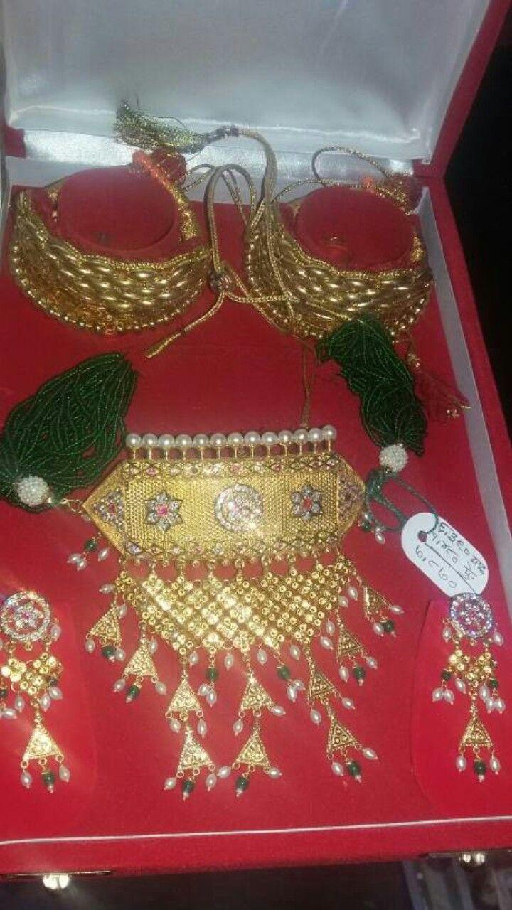 Aad, bangdi and pochi | rajputi jewellery | Pinterest | Gold
