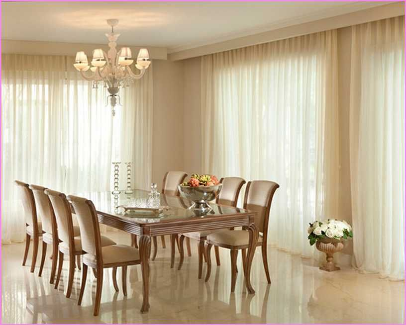 Creative Dining Room Curtain Designs Minimalist Dining Room