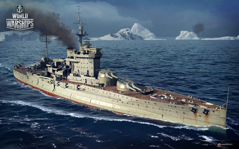 Download Game World Of Warships World Of Warships Wallpaper Warship Royal Navy