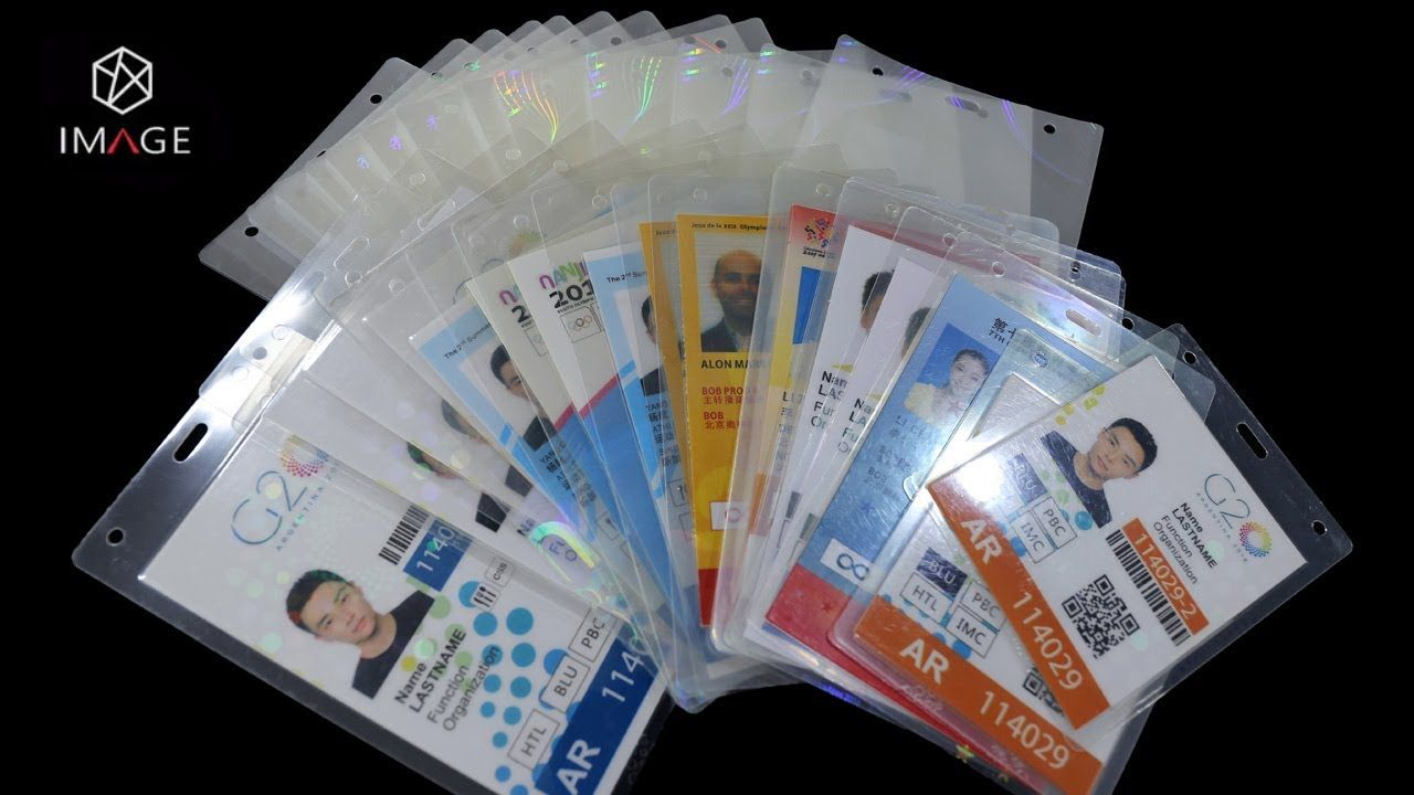 Hologram Custom Laminate Pouches For Event Ids In 2020 Event Id Laminate Custom