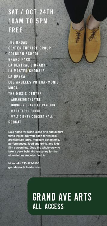 Sat Oct 24th 10am To 5pm Free Los Angeles Events Walt Disney Concert Hall Music Centers