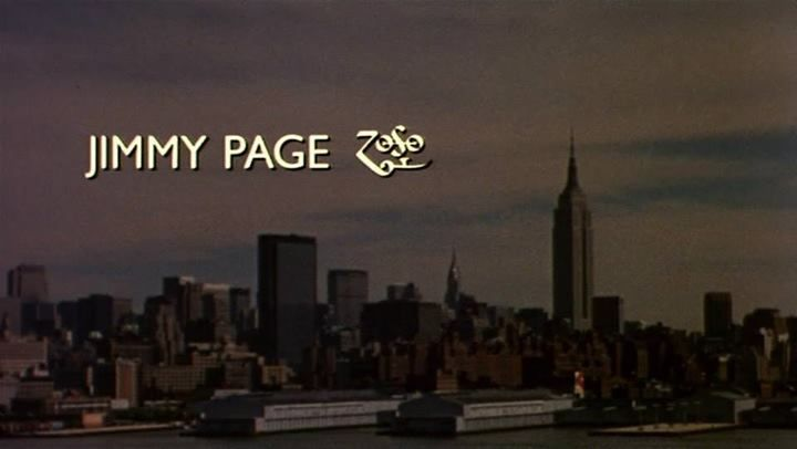 In the opening credits of 'The Song Remains the Same'