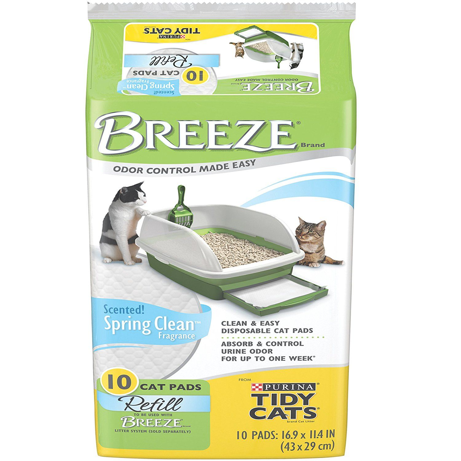 Purina Tidy Cats Litter Breeze System Review Dust Free
