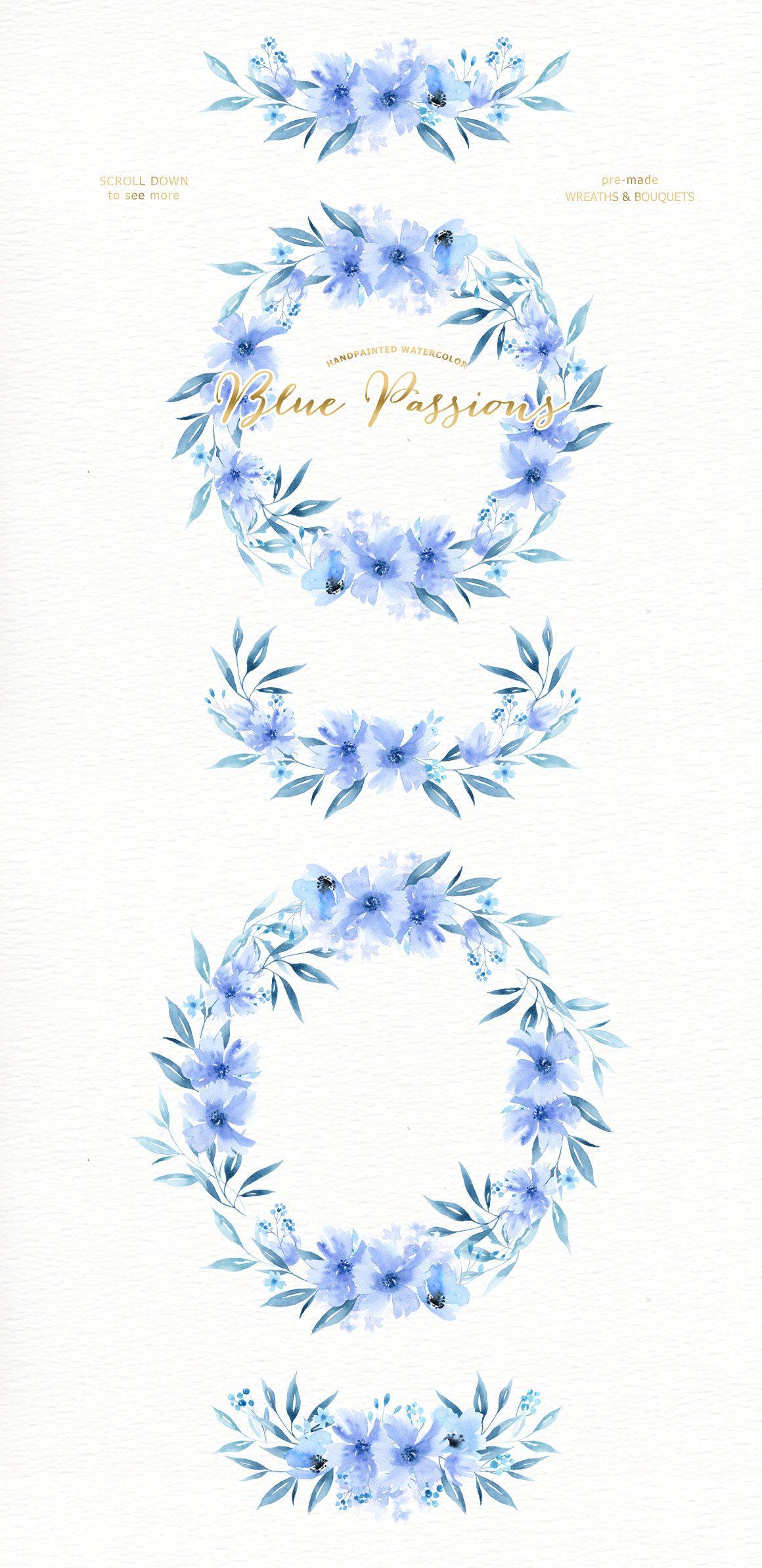 Holiday Wreath Watercolor