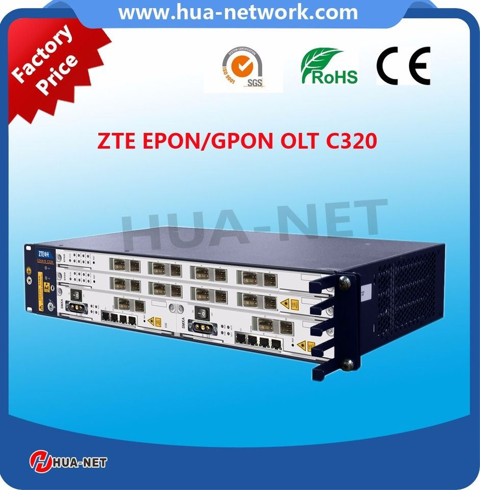 ZTE EPON/GPON mini OLT C320 FTTH OLT Device price