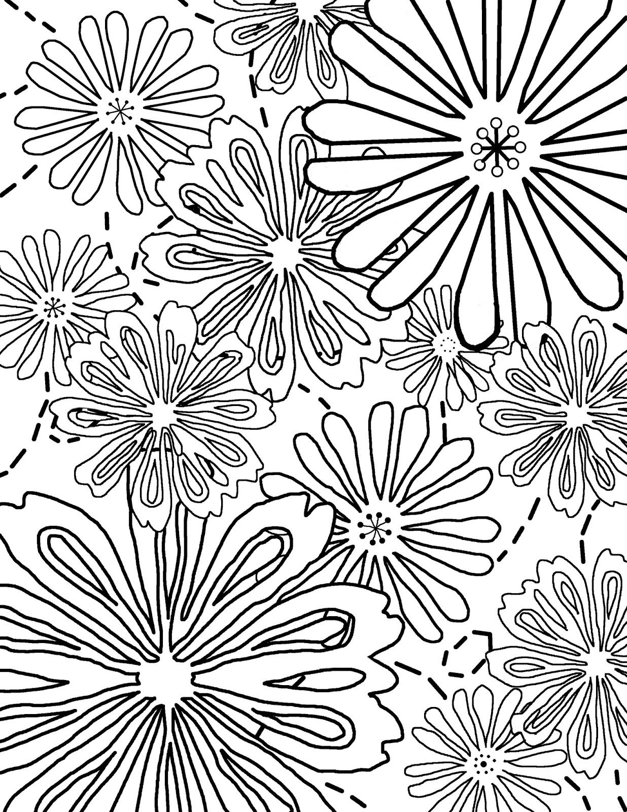 Free coloring pages for children and adults free coloring story