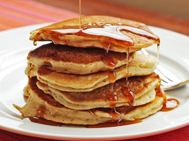 Vegan Pancakes Made With Aquafaba   Receta   Meriendas, Desayuno y ...