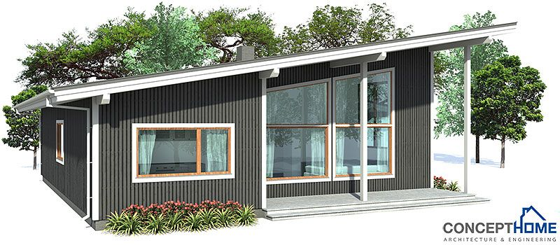 House Plan Ch10 Modern Architecture House Plans Small House Plans