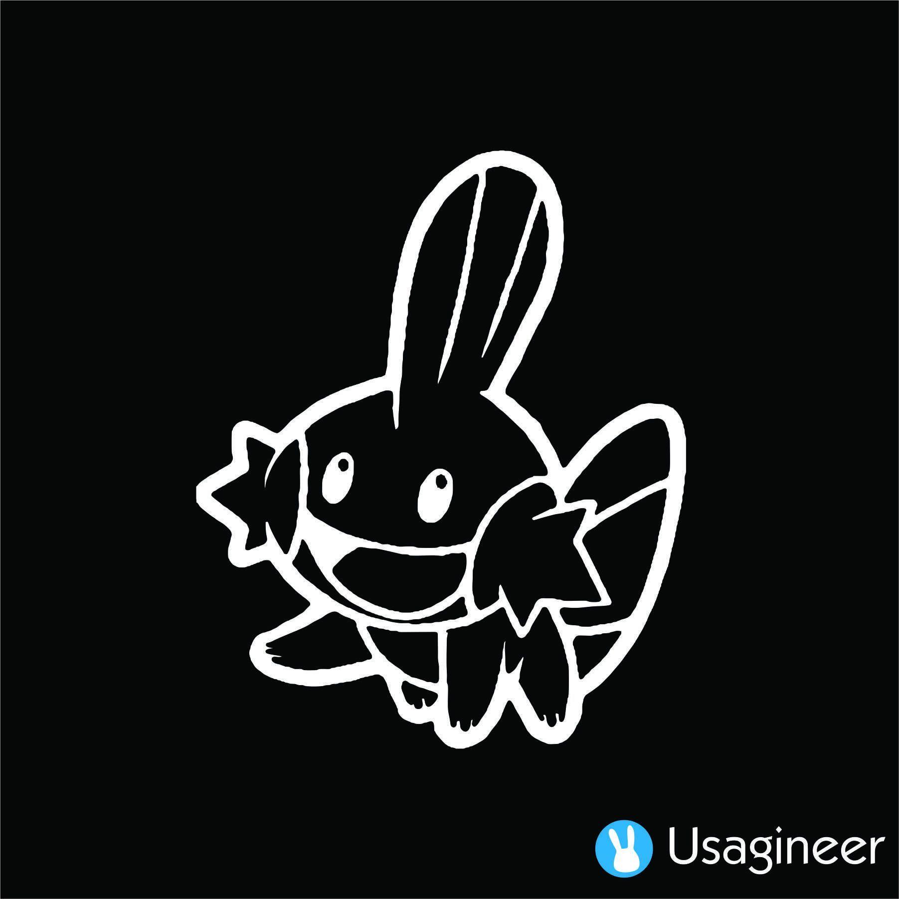 Pokemon Mudkip Vinyl Decal Sticker *SIZES* Wall Cartoon